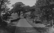 Old Langho, Ribchester Road c.1955