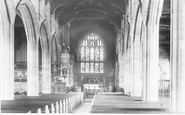Ormskirk, Church Interior 1902