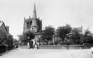 Ormskirk, Church Of St Peter And St Paul From The South 1894