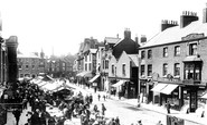 Ormskirk, Moor Street 1902