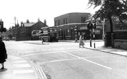 Ormskirk, Ribble Bus Station c.1955