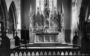 Ormskirk, St Anne's Church, High Altar c1955
