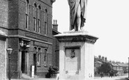 Ormskirk, The Institute And Beaconsfield Monument 1894