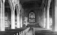 Ormskirk, the Parish Church interior 1895
