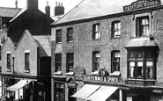 Ormskirk, The Printing Works, Moor Street 1902