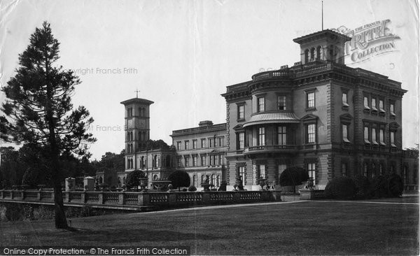 Osborne House, From North East c.1883