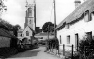 Othery, the Church c1955