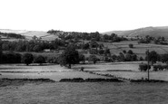 Oughtibridge, Old School House, Onesacre and Cold Well from Church c1960