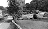 Over Haddon, Conksbury Bridge c.1960