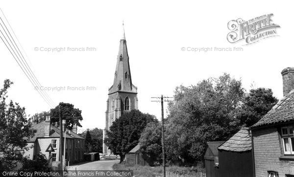 Over, St Mary's Church c.1965