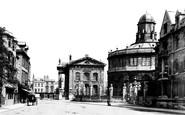 Oxford, Broad Street 1890
