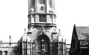 Oxford, Christ Church, Tom Tower 1890