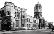 Oxford, Christ Church, West Front 1922