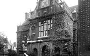 Oxford, City Of Oxford School 1937