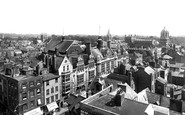 Oxford, From Carfax Tower Looking South 1922