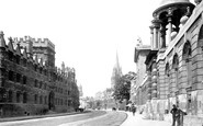 Oxford, High Street 1890