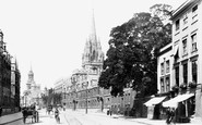 Oxford, High Street 1900