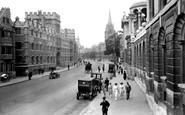 Oxford, High Street 1922