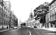 Oxford, High Street 1937