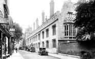 Oxford, Lincoln College 1927