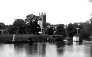 Oxford, Magdalen College 1890