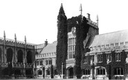 Oxford, Magdalen College, Founder's Tower 1890