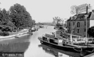 Oxford, On The River From Folly Bridge 1890