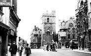 Oxford, Queen Street c.1950