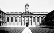 Oxford, Queens College Front Quadrangle 1890