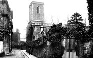 Oxford, St Peter's In The East 1890
