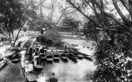 Oxford, The Rollers, On The Cherwell 1906