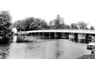 Pangbourne, The Bridge 1893