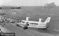 Penarth, the Hovercraft 1963