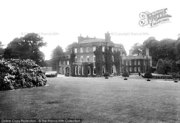 Peplow Hall, 1911