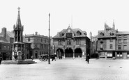 Peterborough, Market Square 1904