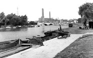 Peterborough, River Nene 1952