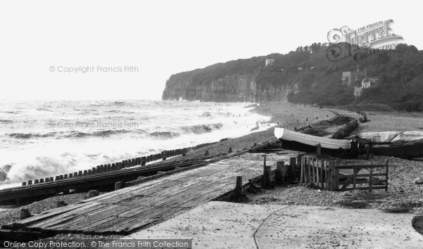 Pett Level, Cliff End c.1960