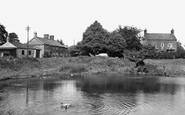 Pickmere, the Pond c1955