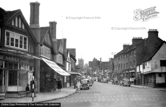 Pinner High Street C 1955 Francis Frith