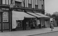 Pitsea, A London Road Shop c.1955