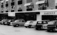 Pitsea, Broadway North Shops c.1965