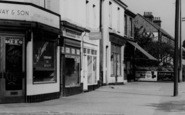 Pitsea, High Street Shops c.1965