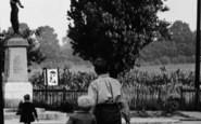 Pitsea, Looking At War Memorial c.1955