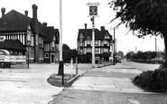Pitsea, Railway Hotel And London Road c.1955