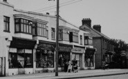 Pitsea, Rectory Road Shops c.1955