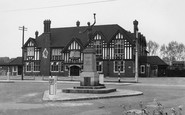 Pitsea, The Memorial c.1955