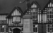 Pitsea, The Railway Hotel, And Memorial c.1955