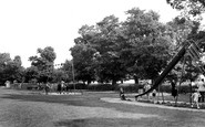 Pitsea, The Recreation Ground c.1955