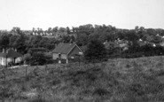 Pitsea, View From The Church c.1955