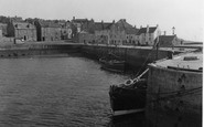 Pittenweem, the Harbour 1953